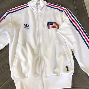 Adidas Team USA track jacket